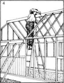 Erecting Greenhouse