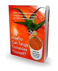 How To Can Tangy Tomatoes