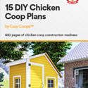 15 Chicken Coop Plans By Easy Coops