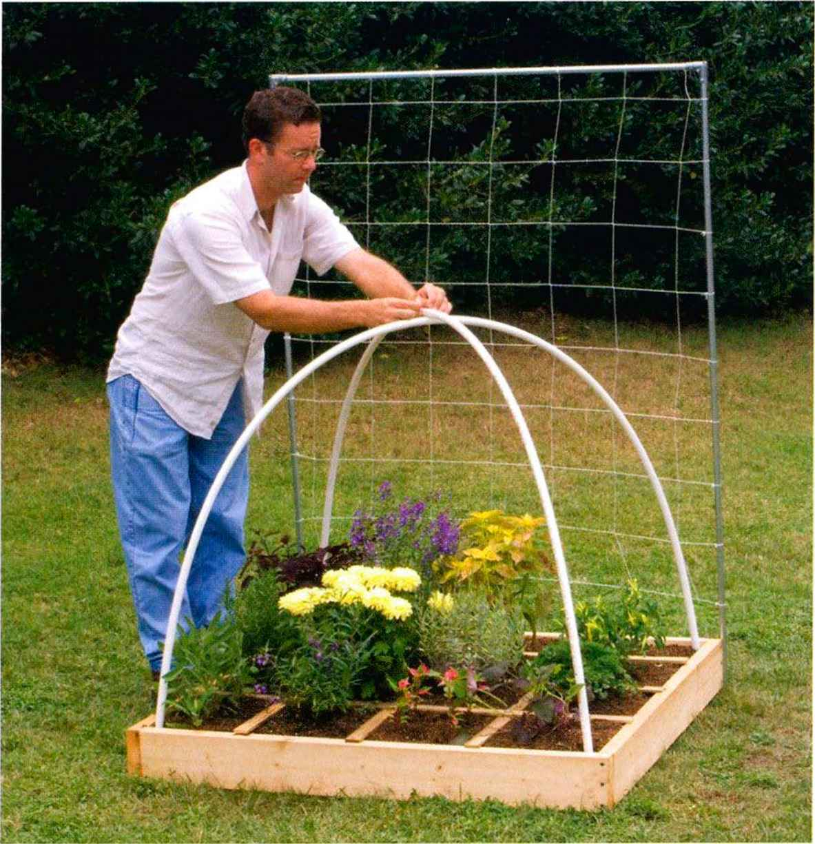 Greenhouse For Square Foot Gardening