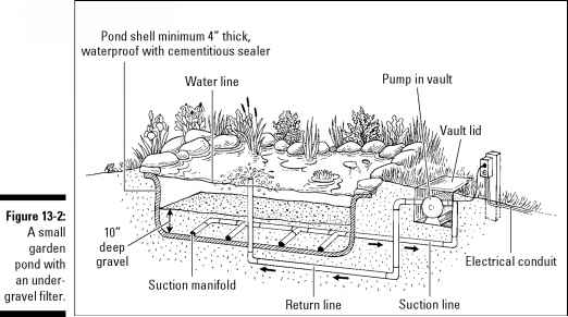 Passive versus active water features landscaping guide for Pond filtration systems ideas